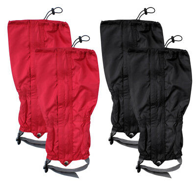 1 Pair Waterproof Outdoor Hiking Walking Climbing Snow Riding Legging Gaiters