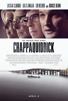 Chappaquiddick - original DS movie poster - 27x40 D/S FINAL