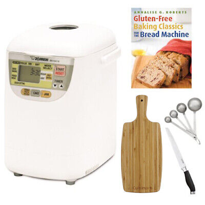 Zojirushi BB-HAC10 1-Pound-Loaf Programmable Breadmaker with Kitchen Accessories