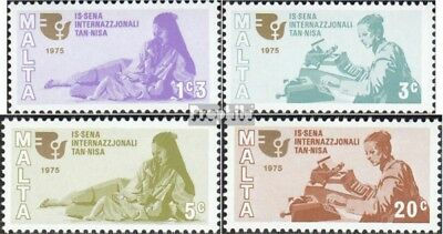 Malta 508-511 (complete issue) unmounted mint / never hinged 1975 Year the Woman