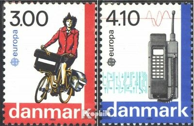 Denmark 921-922 (complete issue) unmounted mint / never hinged 1988 Transportati