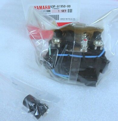 I1B New Genuine Yamaha 63P-81950-00 - F150 & 250 Outboard Trim Relay Factory OEM
