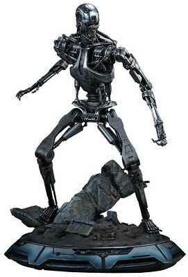 "TERMINATOR T-800 Endoskeleton 20.5"" Maquette Statue (Sideshow Collectibles) #NEW"