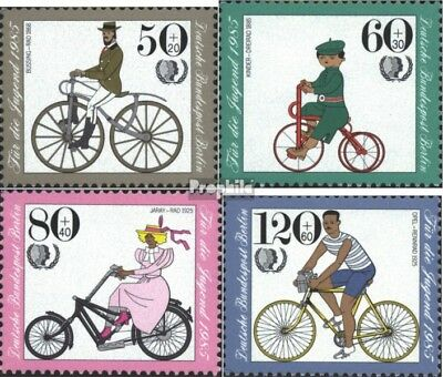 Berlin (West) 735-738 (complete issue) FDC 1985 Youth brands