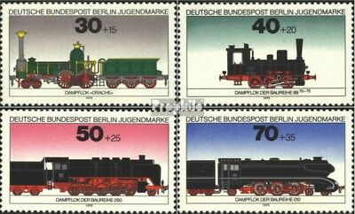 Berlin (West) 488-491 (complete issue) FDC 1975 Youth brands