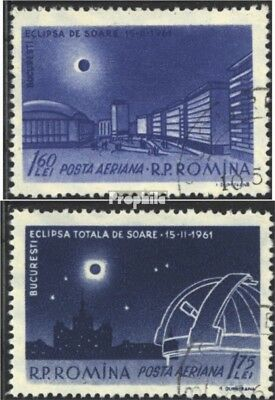 Romania 1991-1992 (complete issue) used 1961 Eclipse