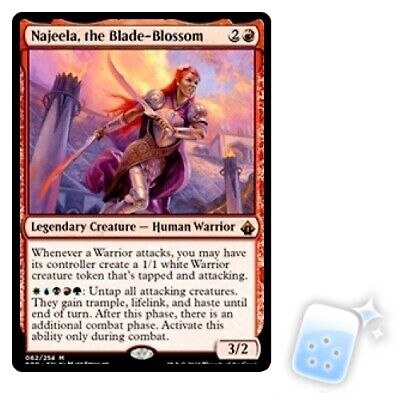 NAJEELA, THE BLADE-BLOSSOM Battlebond Magic MTG MINT CARD