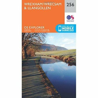 OS Explorer Map (256) Wrexham - Map NEW Ordnance Survey 2015-09-16