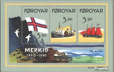 Denmark-Faroe Islands block4 (complete issue) unmounted mint / never hinged 1990