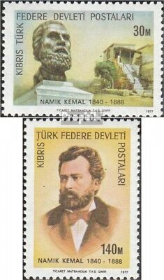 Turkish-Cyprus 50-51 (complete issue) unmounted mint / never hinged 1977 kemal