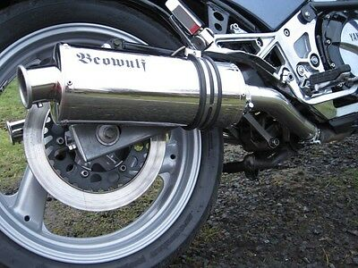 Yamaha FJ1200 (96-96) Beowulf Silencers Exhausts Mufflers PAIR c/w link pipes