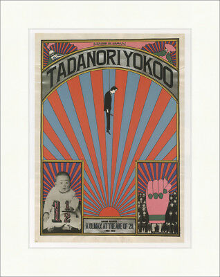 Tadanori Yokoo: A Glimax at the Age of 29 Japan Kunstdruck Plakatwelt 637