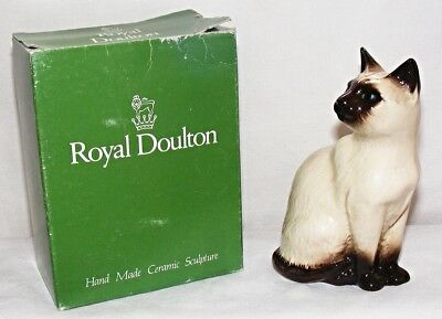 Royal Doulton - Siamese Cat Model No 1887 First Grade - Excellent Condition