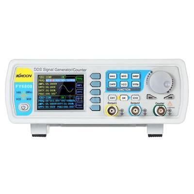 KKmoon FY6800 Precision Dual Channel DDS Function Signal Generator Counter T9W7