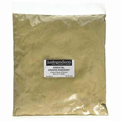 JustIngredients Essential Rosemary Ground, 250 g - Pack of 5