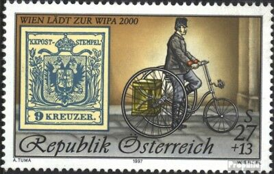 Austria 2222I (complete issue) unmounted mint / never hinged 1997 WIPA 2000