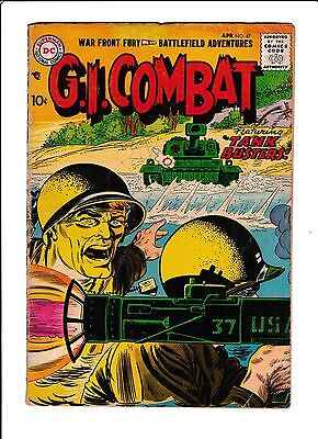 """G.i. Combat  #47  [1957 Gd]  """"tank Busters"""""""