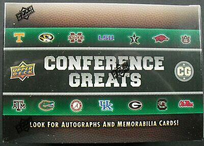 NFL Upper Deck Conference Greats Football 2014 Trading Card Box Seald/OVP