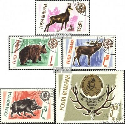 Romania 2460-2464 (complete.issue) used 1965 Trophies