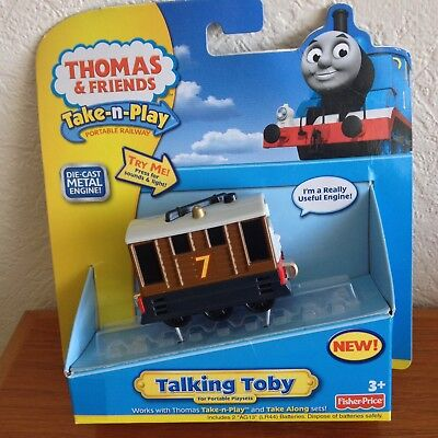 Thomas & Friends Collectible Railway Die Cast Engines Toby Page 2 Source · BNIB Talking Toby