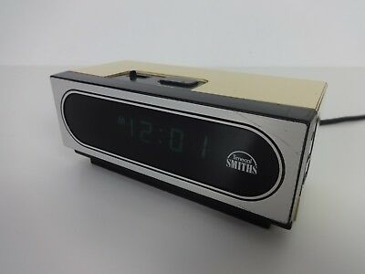 Vintage Smiths Timecal Electric Alarm Clock Plug In 12 Hour Sleep Model QBO 1500