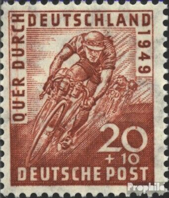 Bizonal (Allied Cast) 107 unmounted mint / never hinged 1949 Cycling
