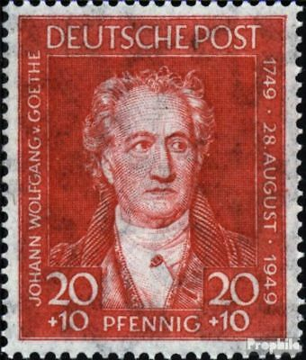 Bizonal (Allied Cast) 109 unmounted mint / never hinged 1949 Goethe
