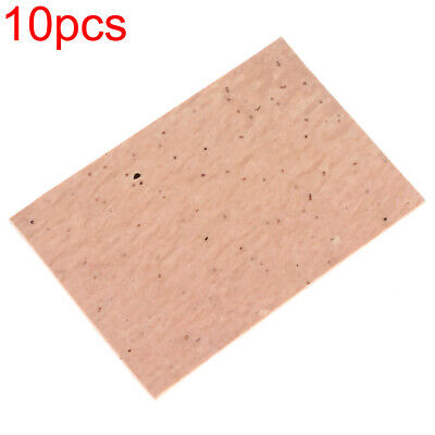 10PCS/set Natural Sax Clarinet Neck Cork Sheet for Soprano Tenor Alto Saxophone