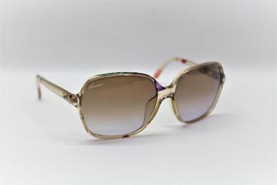 77b4473d73d GUCCI GG 3636 N F S Square Women Sunglasses Floral Blush Pink Gradient