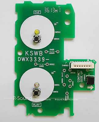 For PIONEER CDJ-2000NEXUS Play / Cue PCB Assy Circuit Board Part DWX3339,Green