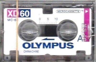 Olympus Xd 60 Microcassette Mc60 - Sealed