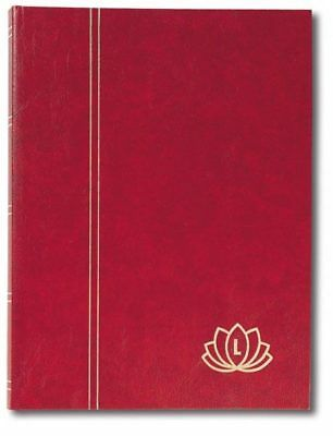Lindner 5702 - R Stockbooks LOTUS-red