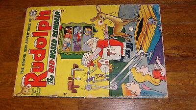 DC COMIC: RUDOLPH THE RED NOSED REINDEER 1950 issue