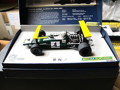 "Scalextric  GP Legends - Brabham BT26A  "" Jacky Ickx ""   Art.  C3702A"