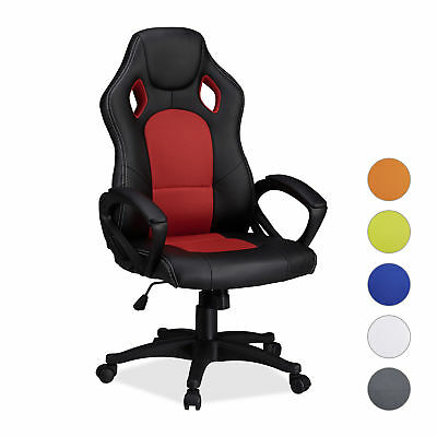 Gaming Stuhl XR9, PC Gaming Chair, Gamer Bürostuhl, belastbarer Racing Stuhl