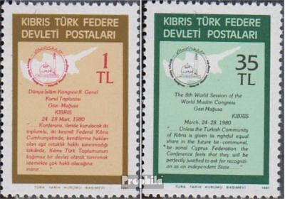 Turkish-Cyprus 95-96 (complete issue) unmounted mint / never hinged 1981 Solidar