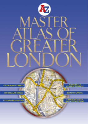 Master Atlas of Greater London (Street Maps & Atlases), Geographers A-Z Map Comp