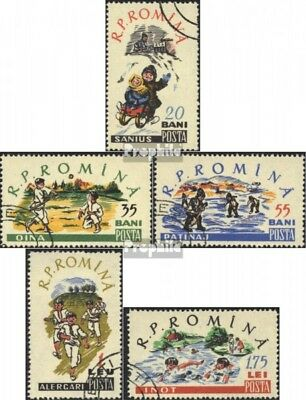 Romania 1913-1917 (complete issue) used 1960 Children Sports