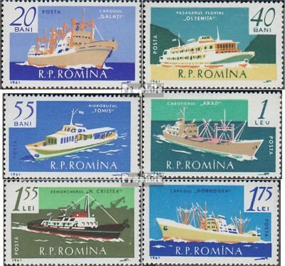 Romania 1972-1977 (complete issue) used 1961 Navigation