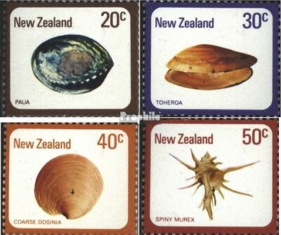 New Zealand 760-763 (complete issue) unmounted mint / never hinged 1978 Mussels