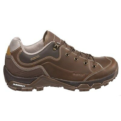 New Hi-Tec Men's Ox Discovery Leather  Walking Hiking Shoes Waterproof