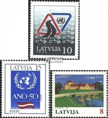 Latvia 393,394,395 (complete issue) unmounted mint / never hinged 1995 special s