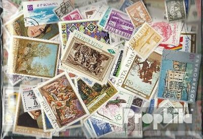 Romania 500 different stamps