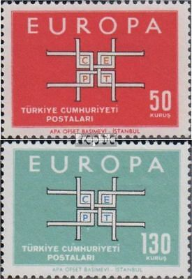 Turkey 1888-1889 (complete issue) unmounted mint / never hinged 1963 Europe