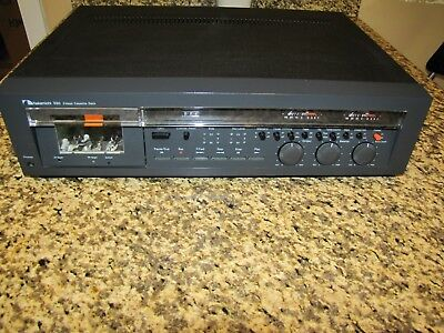 Nakamichi 580 2 Head Stereo Cassette Deck *nice*