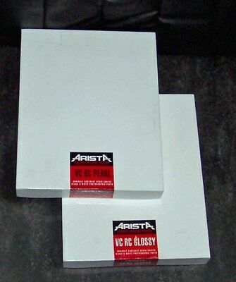 Two Arista Private Reserve VC RC Glossy & Pearl  B&W Photographic Papers