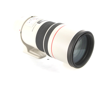 Free Shipping  Canon EF 300mm 1/4 L IS USM F4 Lens