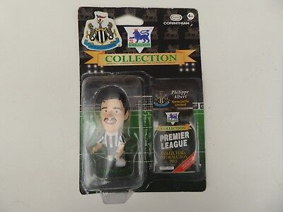 Brand New Rare Corinthian Newcastle United Philippe Albert Football Figure