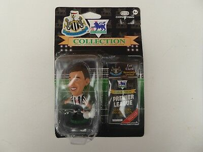 Brand New Rare Corinthian Newcastle United lee Clark Football Figure