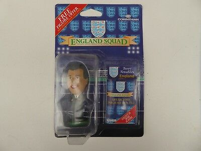 Brand New Rare Corinthian England Squad Terry Venables Football Figure